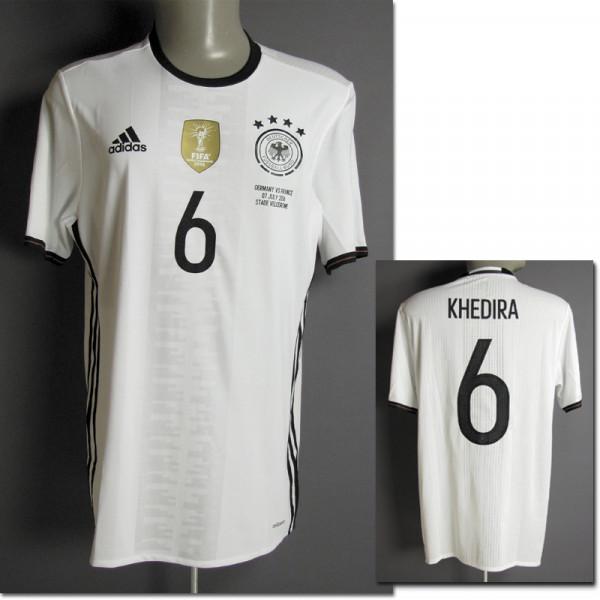 Sami Khedira, 07.07.2016 gegen Frankreich, DFB - Trikot 2016 EM