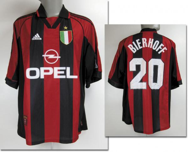 Oliver Bierhoff Lega Calcio Saison 1999/2000, Mailand, AC - Trikot 1999/2000