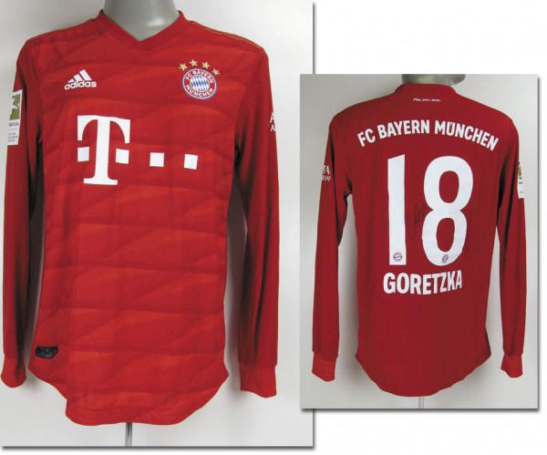 Leon Goretzka, Bundesliga Saison 2019/2020, München, Bayern - Trikot 2019/2020