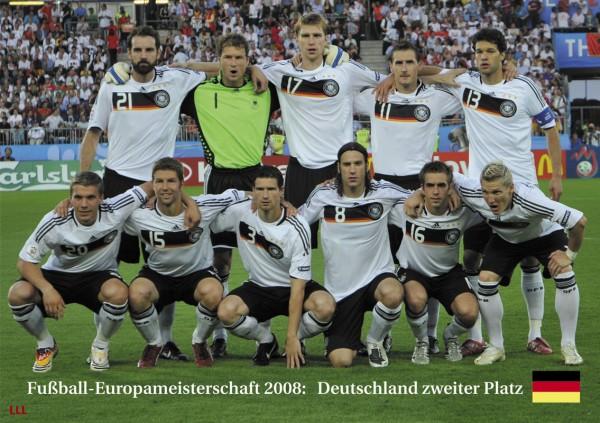 Deutschland 2. Platz EM 2008