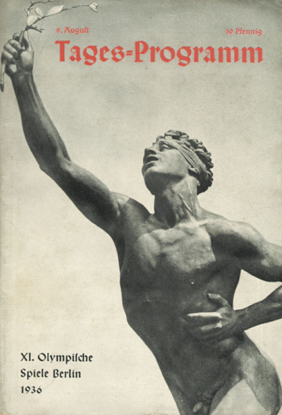 Olympic Games berlin 1936 Official Daily Programm