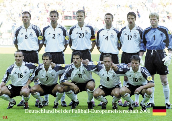 Germany at the Euro Cup 2000