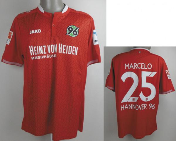 match worn football shirt Hannover 96 2015/16