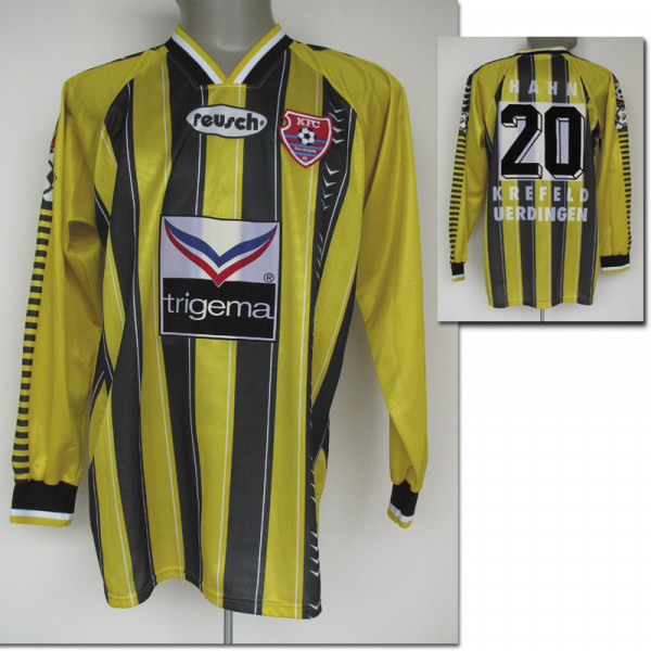 match worn football shirt KFC Uerdingen 1996/97