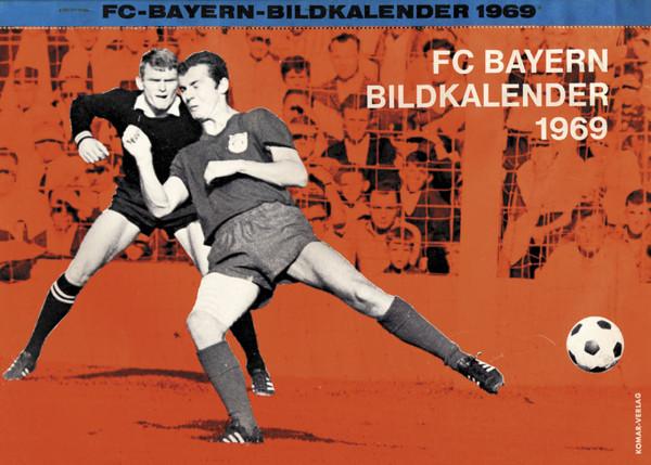 Bayern Munich Football Calendar 1969.