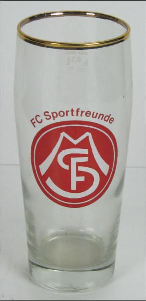 Glas Sportfreunde München, München,FC SF - Bierglas