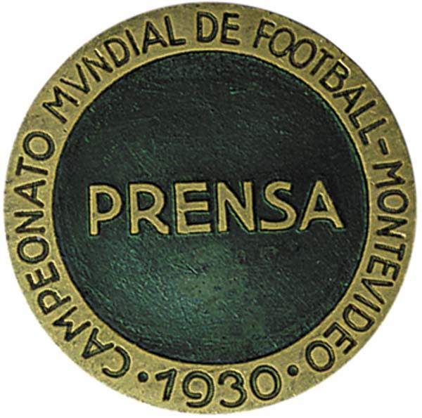 """Presse - """"Prensa"""", Teilnehmerabzeichen 1930"""