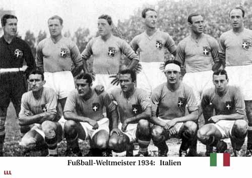 Fußball-Weltmeister 1934