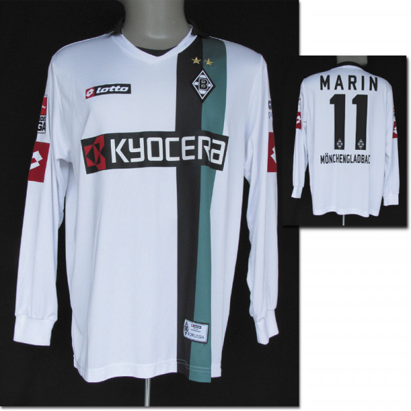 match worn football shirt Moenchengladbach 2009