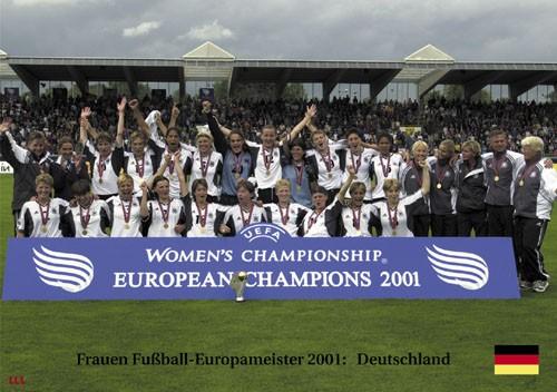 Frauenfußball-Europameister 2001