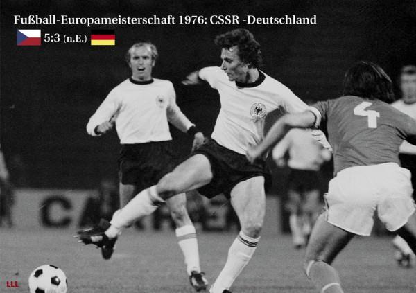 CSSR - Deutschland 1976