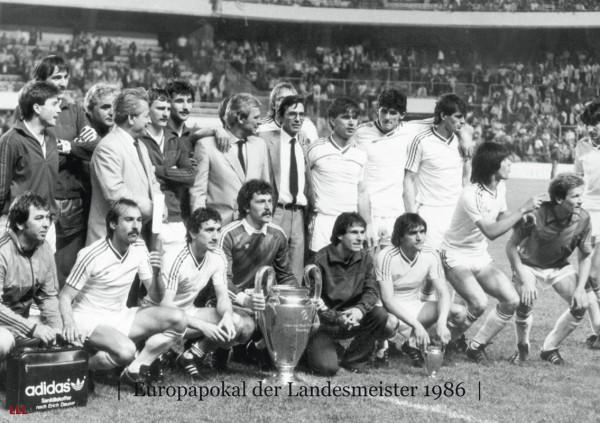 Champions League 1986