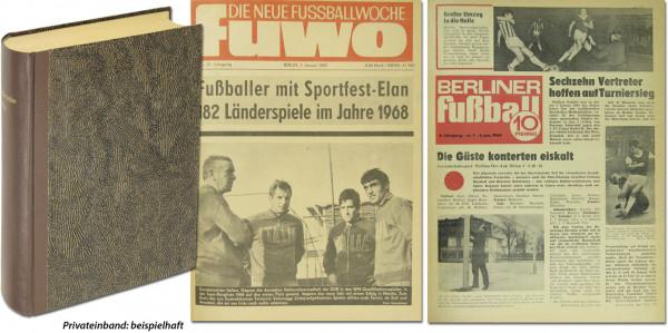 Die Neue FUWO '69 + Berliner Fußball: Nr.1-52 komplett