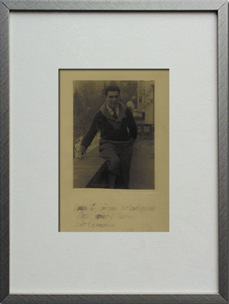 Schmeling, Max: Autograph: Max Schmeling
