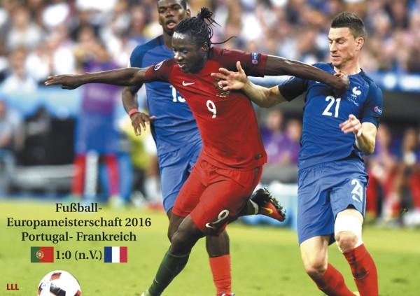 Portugal - Frankreich 2016