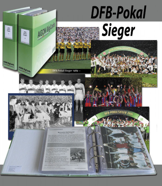 German Football-Cup 1935 to 2019 AGON Big Cards