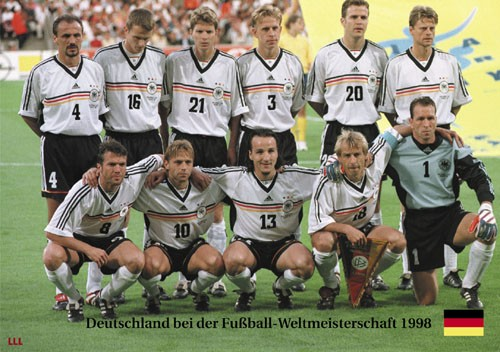 Germany at the World Cup 1998