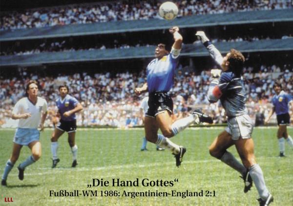 """""""Die Hand Gottes"""" WM 1986"""