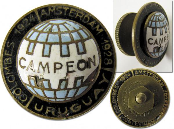 Weltmeister 1930 und Olympiasieger 1924 und 1928, Abzeichen WM 1930