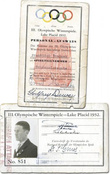 3. Olympische Winterspiele Lake Placid 1932, Ausweis OSW1932