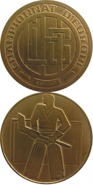 Eishockey Europameisterschaft 1930, Siegermedaille 1930