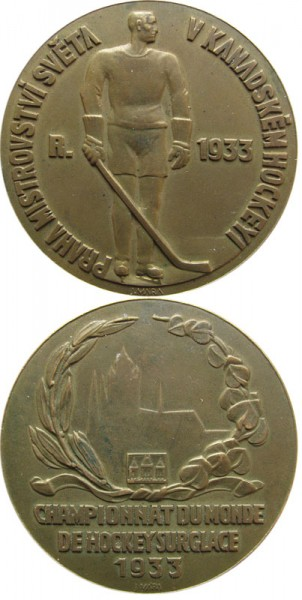 Eishockey Weltmeisterschaft 1933, Siegermedaille 1933