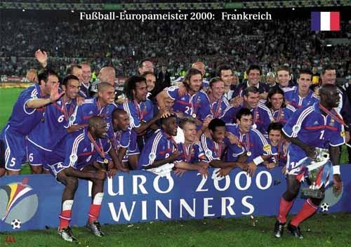 Fußball-Europameister 2000