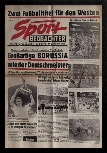 "GermanNewspaper: ""Sportbeobachter"" 1957."