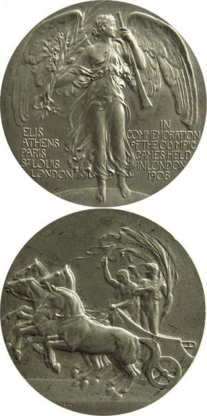London 1908, Teilnehmermedaille OSS1908