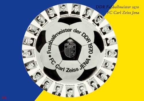 GDR Champions 1970 - Jena