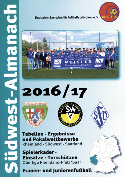 South West Football Almanach 2016/17 Germany