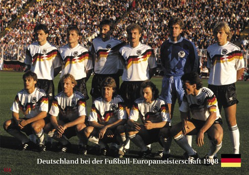 Germany at the Euro Cup 1988