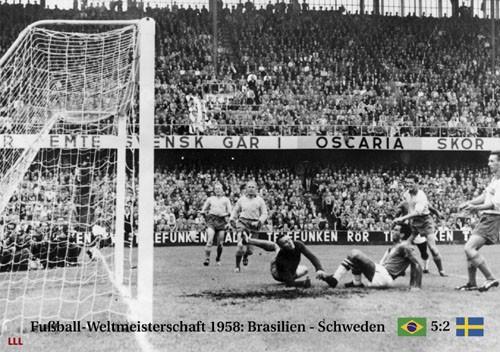 Brasilien-Schweden 1958