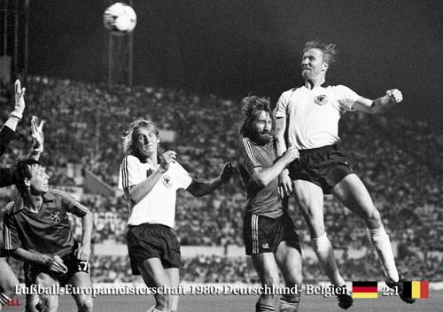 Deutschland-Belgien 1980