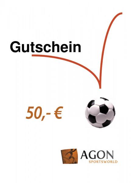 AGON Gutschein im Wert von 50,- €