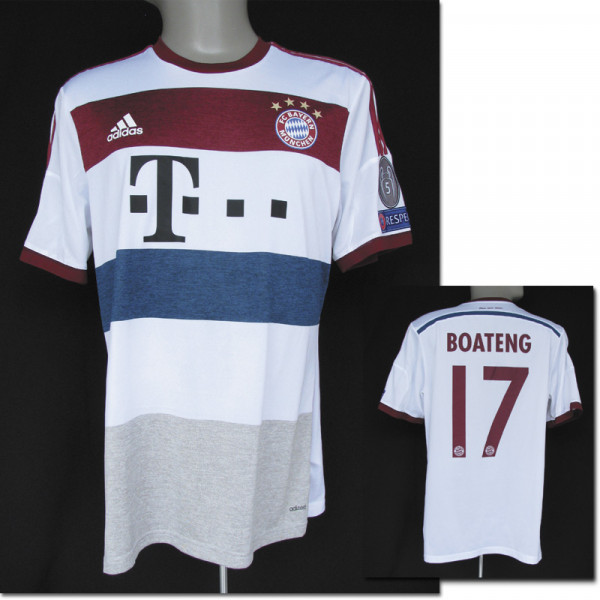 match worn football shirt Bayern Munich 2014/15