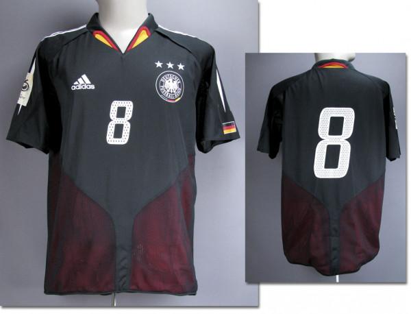 match worn football shirt Germany 2004