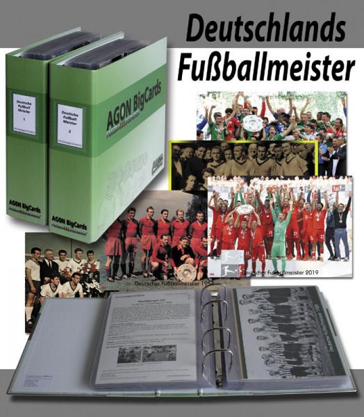 German Football Champions 1903 to 2019 AGON Big Cards