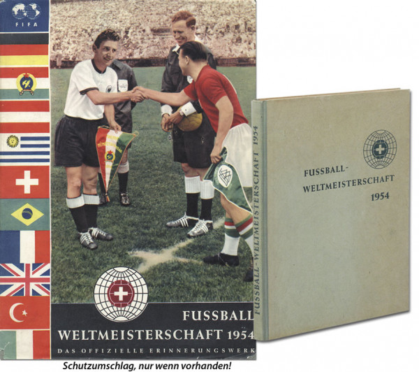 World Cup 1954. rare German Report from G.Bahr