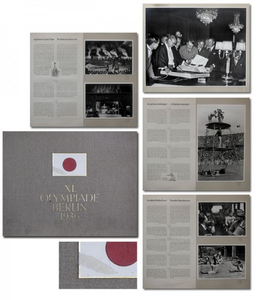 Photo Album of Japanese: Olympic Games 1936