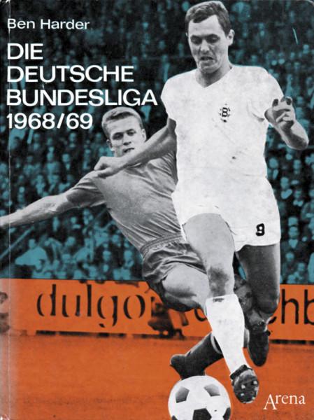 Die deutsche Bundesliga 1968/69.