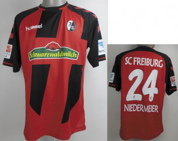 Spielertrikot SC Freiburg 2016/17, Niedermeier, Freiburg, SC - Trikot 2016/17