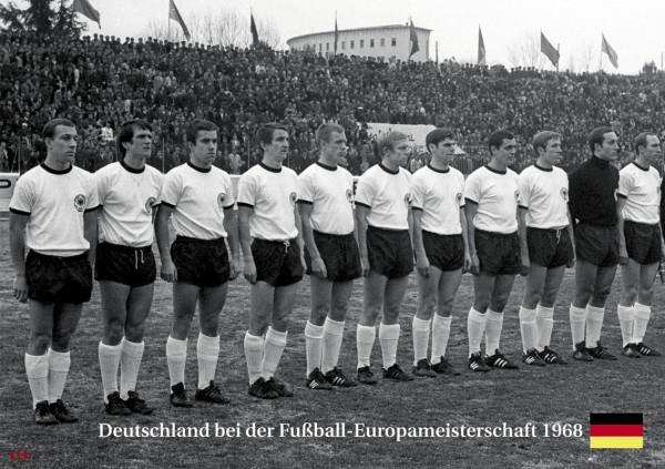 Deutschland bei der EM 1968