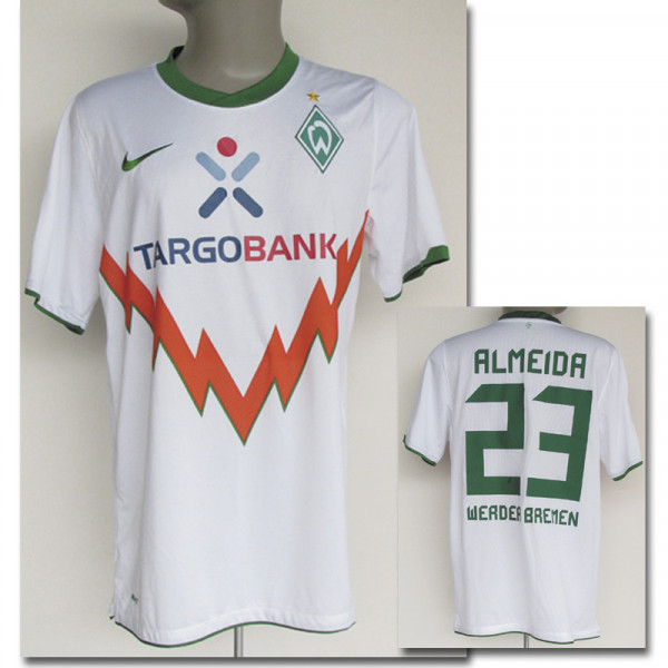 Hugo Almeida, 2010/11, Bremen,Werder - Trikot 2011
