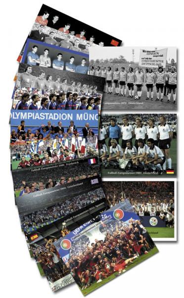 European champions 1960-2016 AGON Big Cards