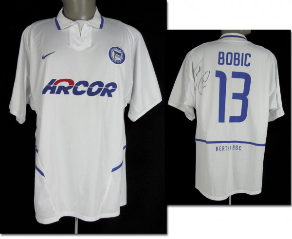 Fredi Bobic, 28.09.2003 gegen den HSV, Berlin, Hertha BSC - Trikot 2004/05