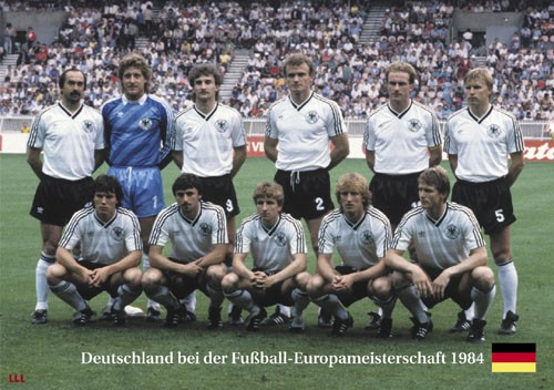 Germany at the Euro Cup 1984