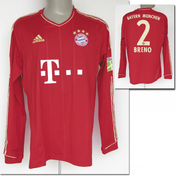 match worn football shirt Bayern Muenchen 2011/12