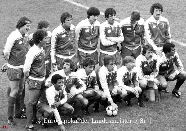 Champions League 1981