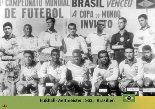 Fußball-Weltmeister 1962